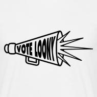 Design ~ Vote Loony Megaphone - Men's