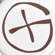 Motiv ~ Button -  Geocaching - braun