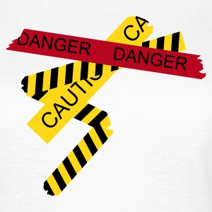 White danger Women's T-Shirts - Women's T-Shirt