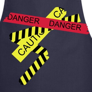 Navy danger  Aprons - Cooking Apron