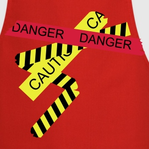 Red danger  Aprons - Cooking Apron