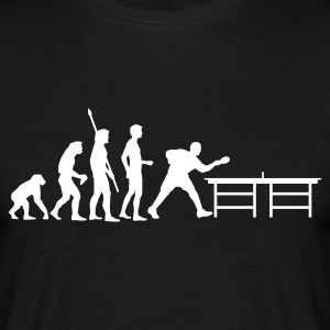Schwarz evolution_table_tennis_a T-Shirts - Männer T-Shirt