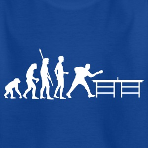 evolution_table_tennis_a Shirts - Teenage T-shirt
