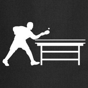 table_tennis_a_1c Delantales - Delantal de cocina