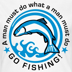 fishing_d_2c T-Shirts - Women's T-Shirt