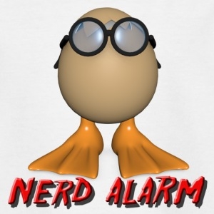Nerd Alarm - Teenager T-Shirt