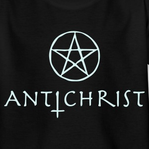 Black antichrist Kids' Shirts - Teenage T-shirt