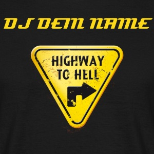 offground highway to hell - Männer T-Shirt