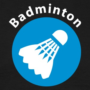 Black badminton_verein_c_2c Men's T-Shirts - Men's T-Shirt