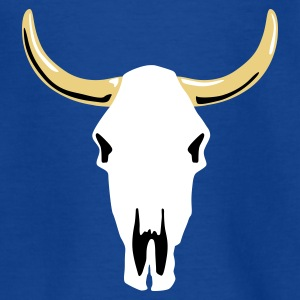 cow_skull_a_3c Shirts - Teenager T-shirt