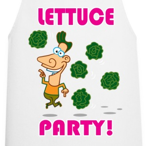 White Lettuce Party!  Aprons - Cooking Apron