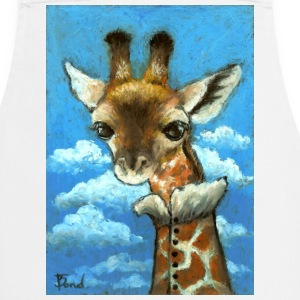Romantic Giraffe apron - Cooking Apron