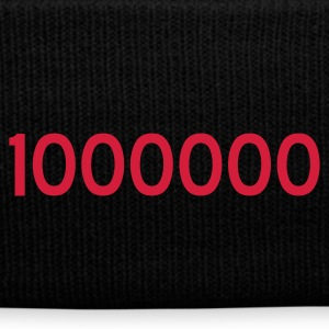 Schwarz 1000000 - ONE MILLION - eushirt.com Caps & Mützen - Bonnet d'hiver