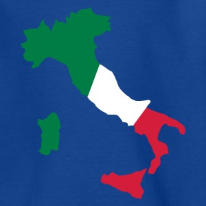 Royalblau Italien Kinder T-Shirts - Teenager T-Shirt