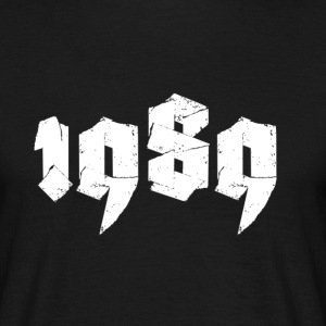 Black Jahr 1989 Men's T-Shirts - Men's T-Shirt