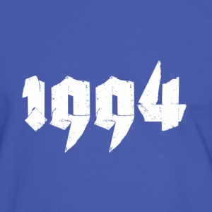 Blue/white Jahr 1994 Men's T-Shirts - Men's Ringer Shirt