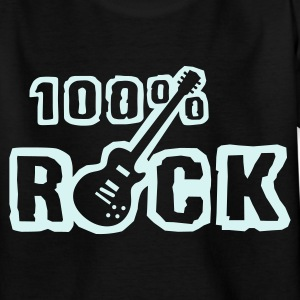 100_rock_b_1c Shirts - Teenage T-shirt