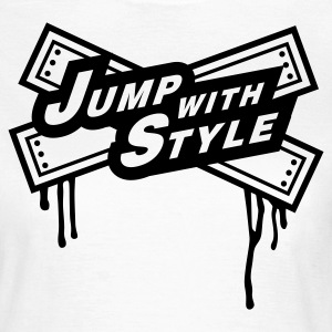 jump with style - Women's T-Shirt