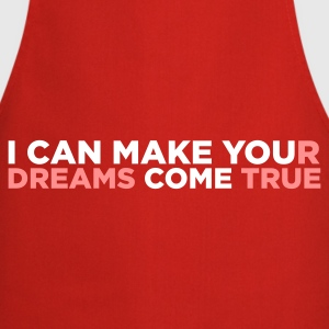 Red I Can Make You Come (2c)  Aprons - Cooking Apron