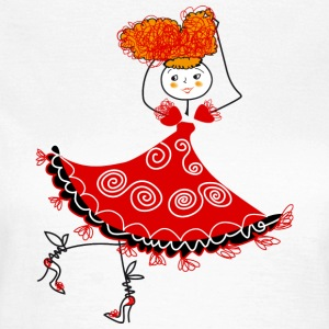dancer T-Shirts - Frauen T-Shirt
