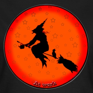 witch at work - T-shirt dam