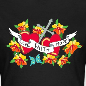 tattoo faith - T-shirt dam