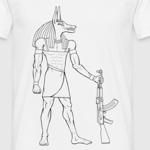Blanc Anubis Reloaded T-shirts - T-shirt Homme