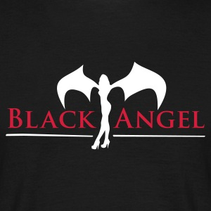black_angel_2c T-Shirts - Men's T-Shirt