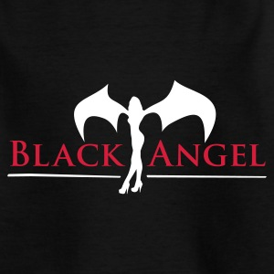 black_angel_2c Shirts - Teenage T-shirt