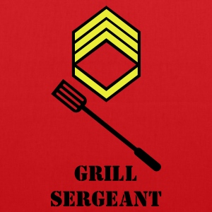 Red grill sergeant (2c) Bags  - Tote Bag