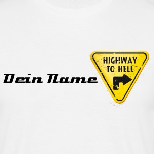 Highway to hell - offground - Männer T-Shirt