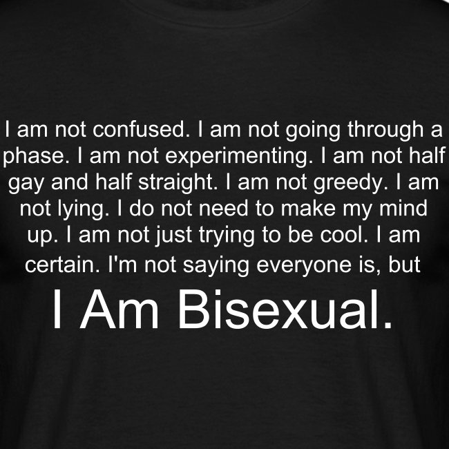 I Am Bisexual