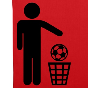 Red Soccer - against Bags  - Tote Bag