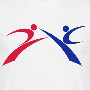 Taekwondo Kickers - Men's T-Shirt