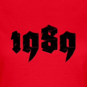Red Jahr 1989 Women's T-Shirts - Women's T-Shirt
