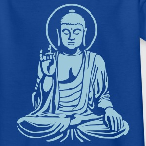 Navy Young Buddha No.1_1c Kinder T-Shirts - Teenager T-Shirt