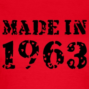 Rot Made in 1963 T-Shirts - Frauen T-Shirt