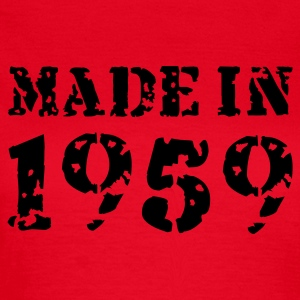 Rot Made in 1959 T-Shirts - Frauen T-Shirt