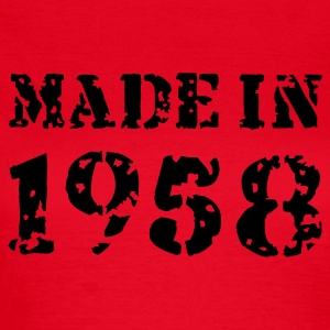 Rot Made in 1958 T-Shirts - Frauen T-Shirt