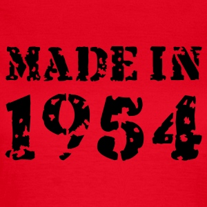 Rot Made in 1954 T-Shirts - Frauen T-Shirt