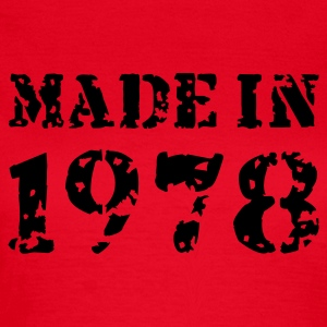 Rot Made in 1978 T-Shirts - Frauen T-Shirt