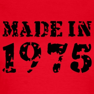 Rot Made in 1975 T-Shirts - Frauen T-Shirt