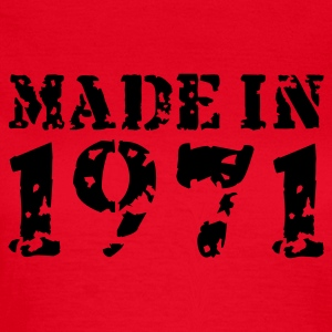 Rot Made in 1971 T-Shirts - Frauen T-Shirt