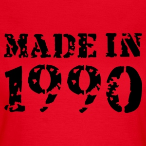 Rot Made in 1990 T-Shirts - Frauen T-Shirt
