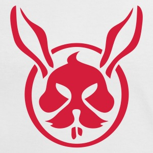 White/red rabbit Women's T-Shirts - Women's Ringer T-Shirt