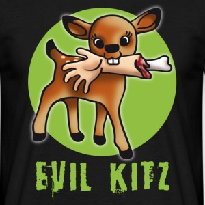 killer__evil_green T-shirts - Herre-T-shirt
