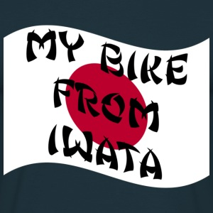 Navy my_bike_from_iwata T-Shirts - Männer T-Shirt