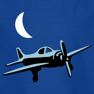 Royalblau flieger_b_3c Kinder T-Shirts - Teenager T-Shirt