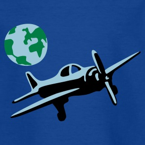 flieger_3c T-shirts - Teenager-T-shirt