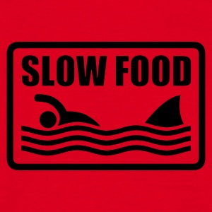 slow food T-Shirts - T-shirt Homme